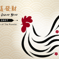The year of the rooster:  Lunar New Year is coming up!