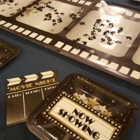 Party idea:  Make your own movie night
