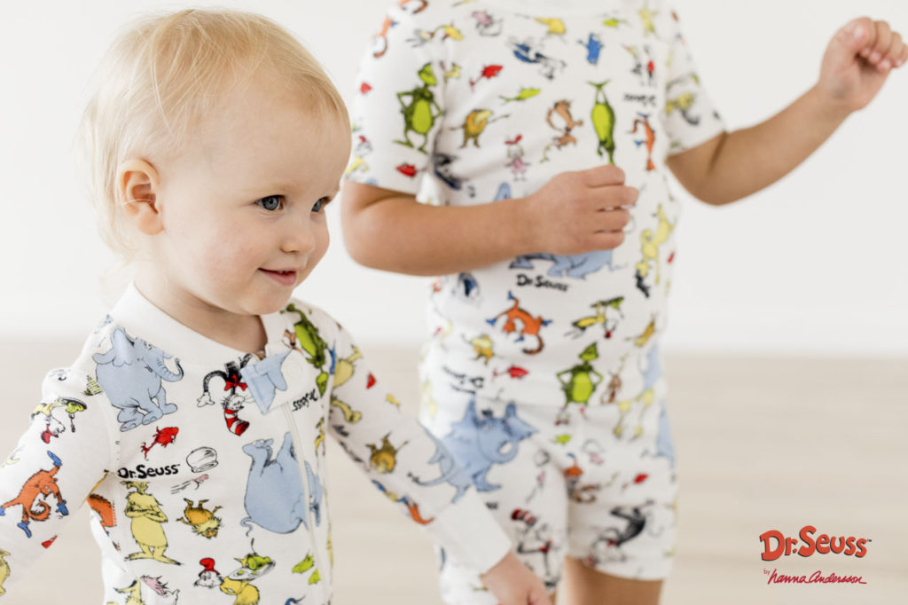 Dr. Seuss Hanna Andersson pajamas for toddlers