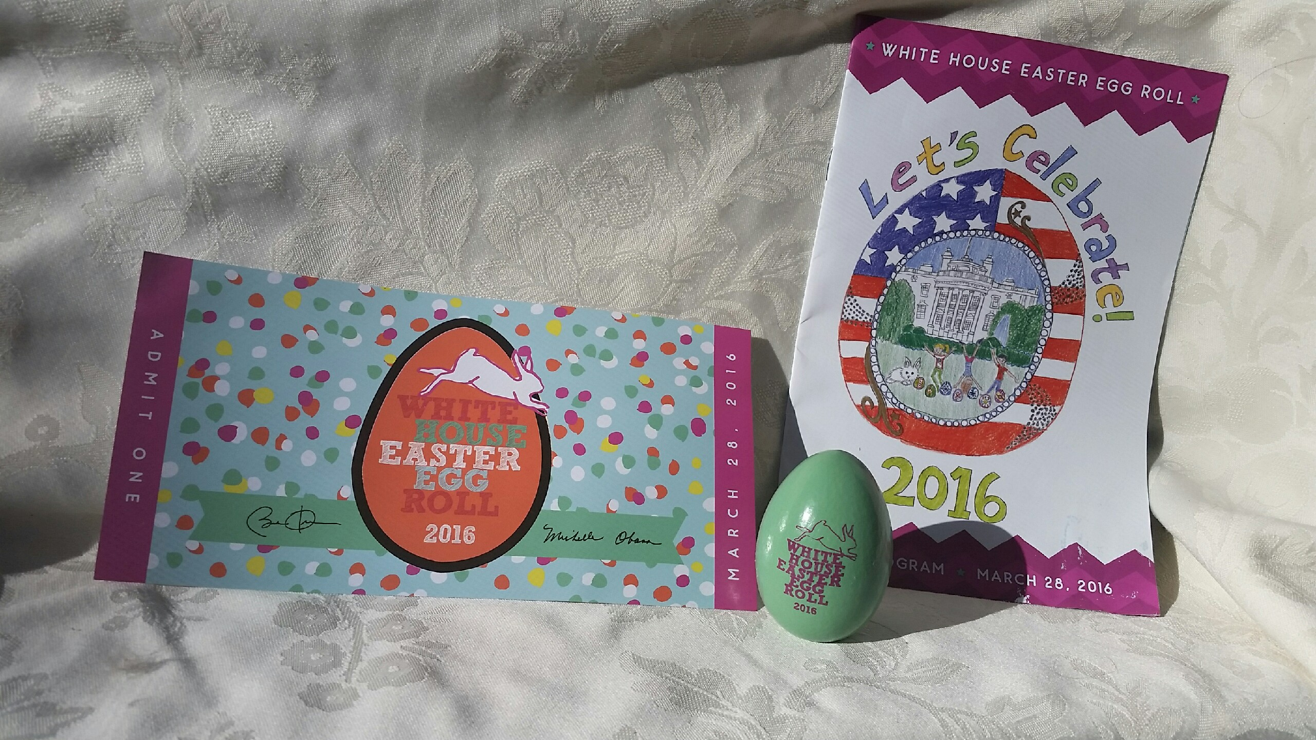 White House Easter Egg Roll souvenirs