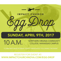 Time again for the helicopter Easter egg drop!