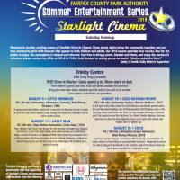 Starlight Cinema: Schedule for free summer outdoor movies announced