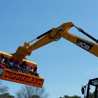 Diggerland: a day of construction-themed family fun