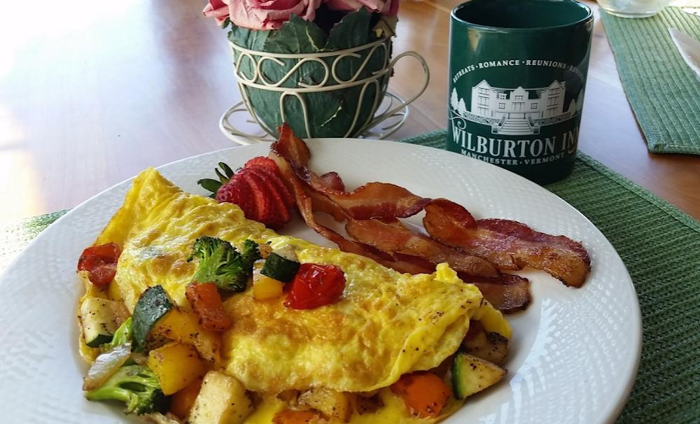 Breakfast at the Wilburton Inn Vermont