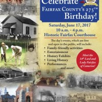 You're invited: Celebrate Fairfax County's 275th Anniversary!