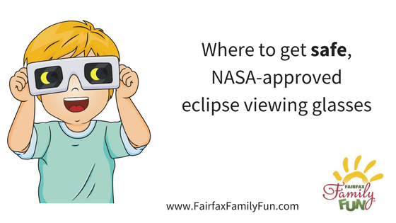 Where to get safe, NASA-approved eclipse viewing glasses