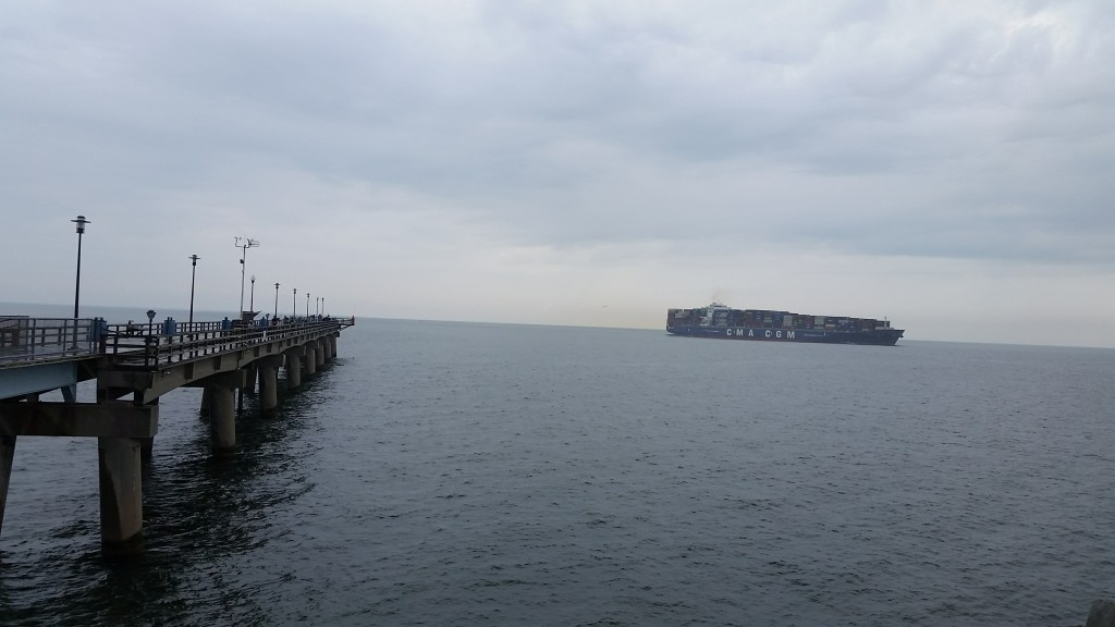 Chesapeake Bay-Bridge Tunnel restaurant pier