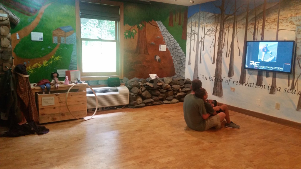 The Nature Foundation at Wintergreen Resort, educational area