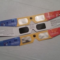 Giveaway:  Free eclipse glasses