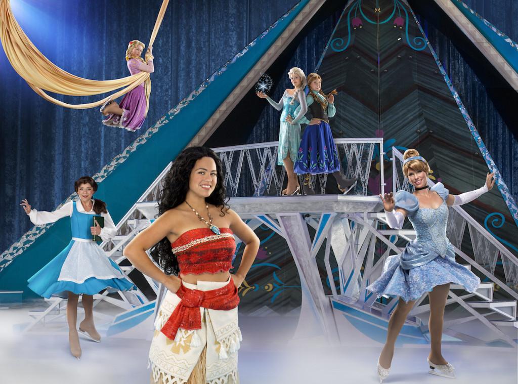 Disney on Ice with Princess Moana