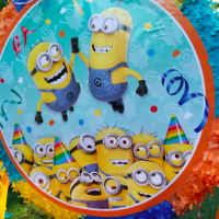 Bright and fun:  A Minions Birthday Party