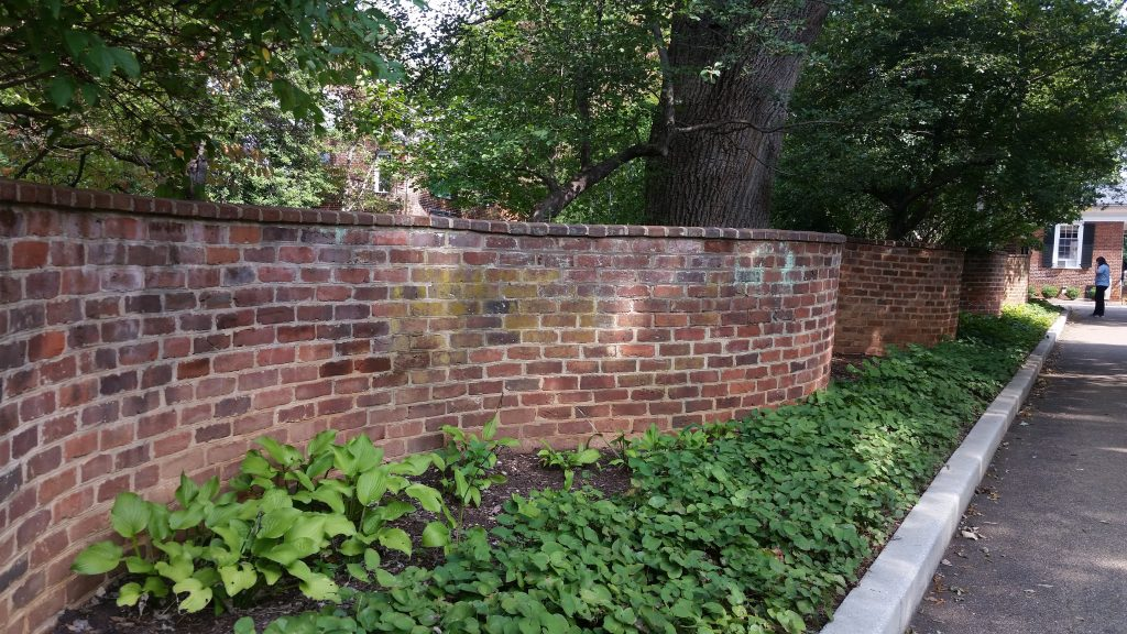 Charlottesville travel serpentine walls