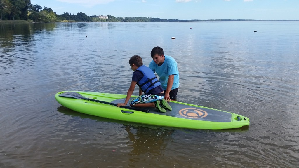 Kingsmill Resort stand-up paddle boarding (SUP)