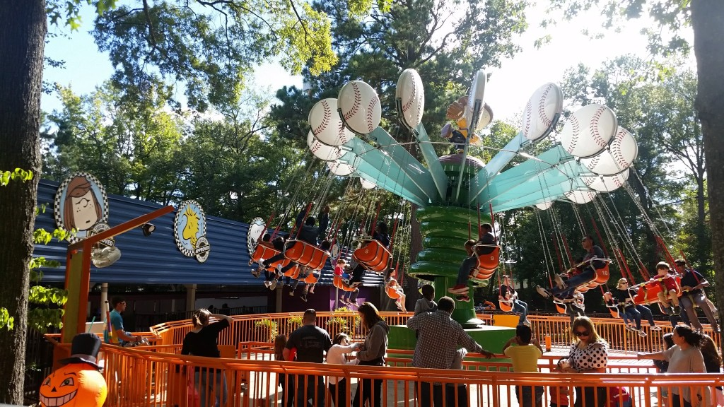 Kings Dominion The Great Pumpkin Fest rides