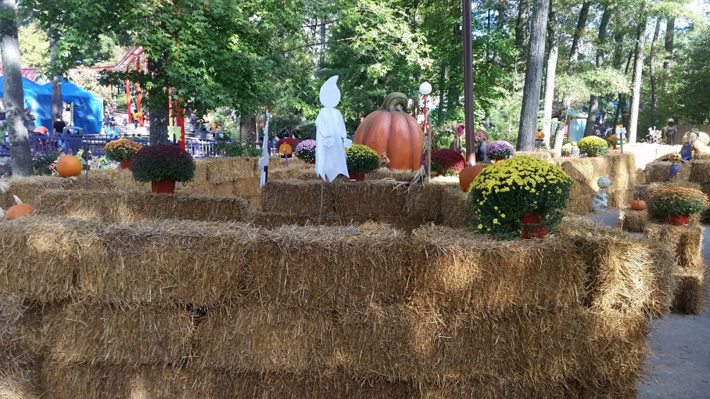 Kings Dominion The Great Pumpkin Fest  hay maze