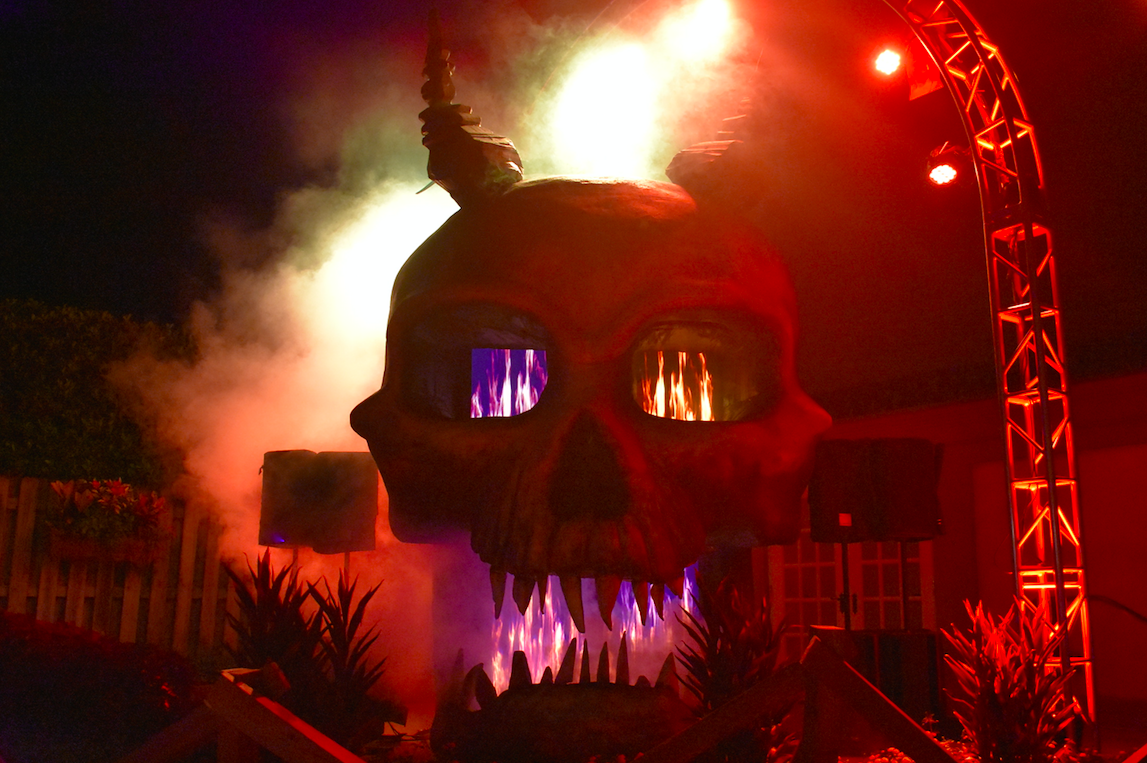 Thrills and chills at Busch Gardens Howl-O-Scream