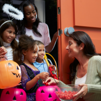 Trick or treat times in Northern Virginia