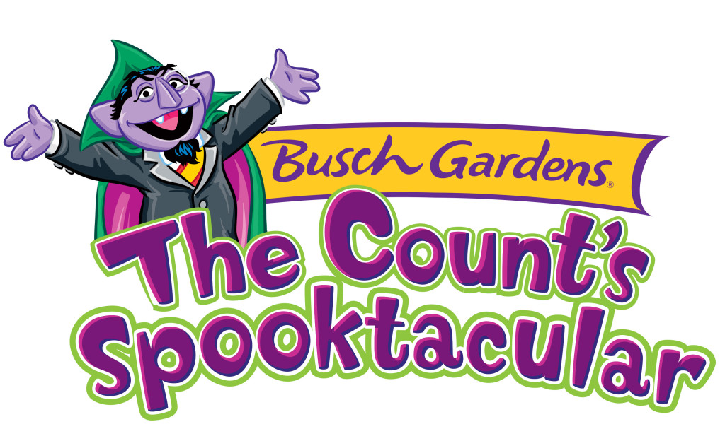 Busch Gardens Williamsburg The Count's Spooktacular Sesame Street Halloween event at theme park