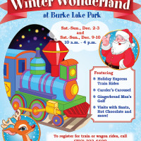 Chill and chilly fun:  Burke Lake Park Winter Wonderland