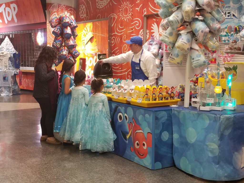 Disney on Ice concessions