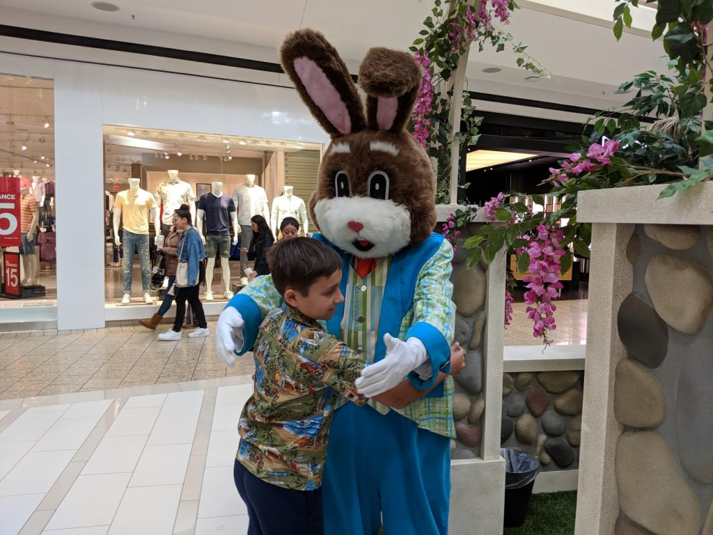 Bunnyville Easter Bunny photos Fair Oaks Mall