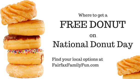 National Donut Day deals in Northern Virginia