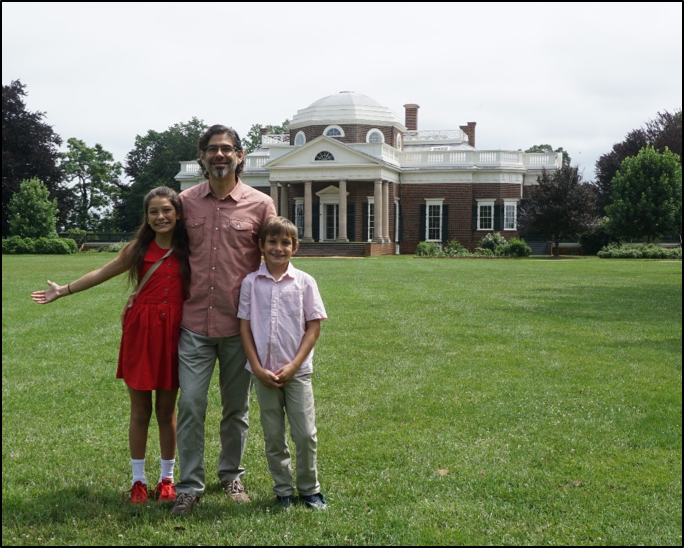 Family travel in Monticello