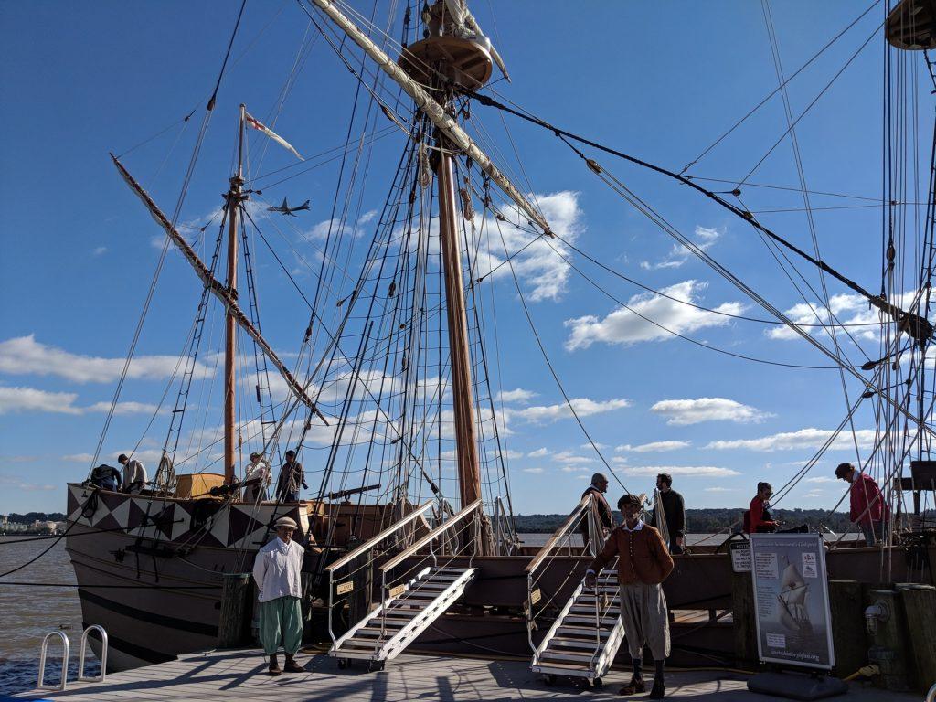 Godspeed Jamestown ship