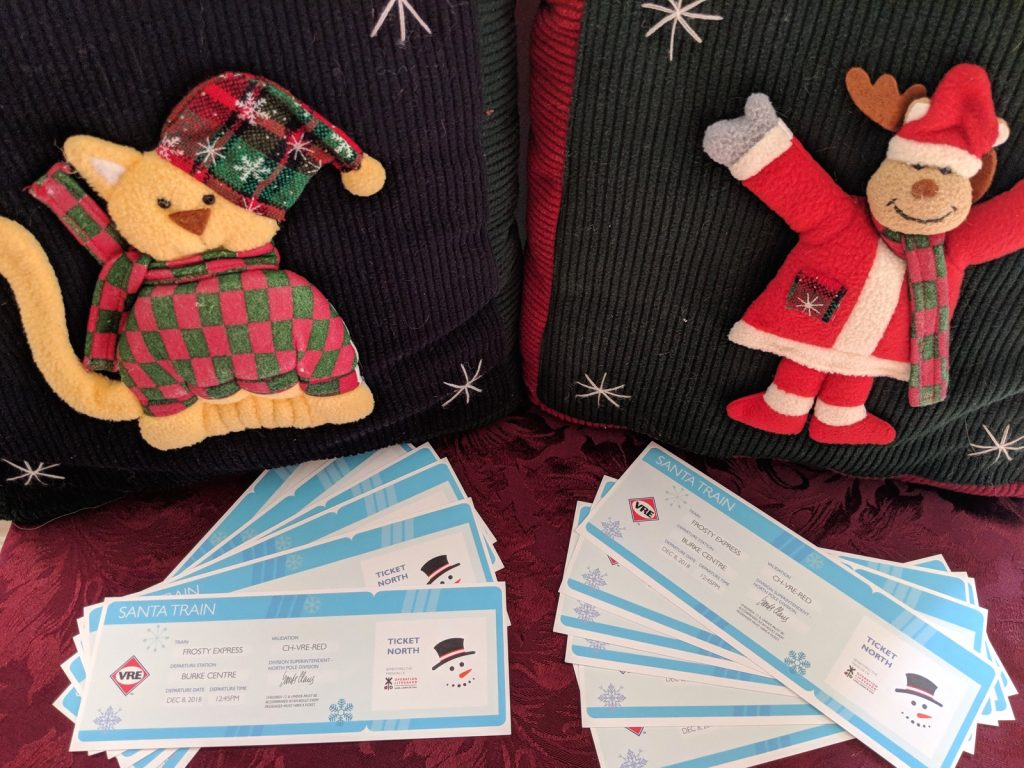 Santa Train tickets 2018