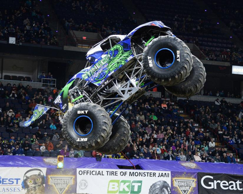Monster Jam Stinger monster truck