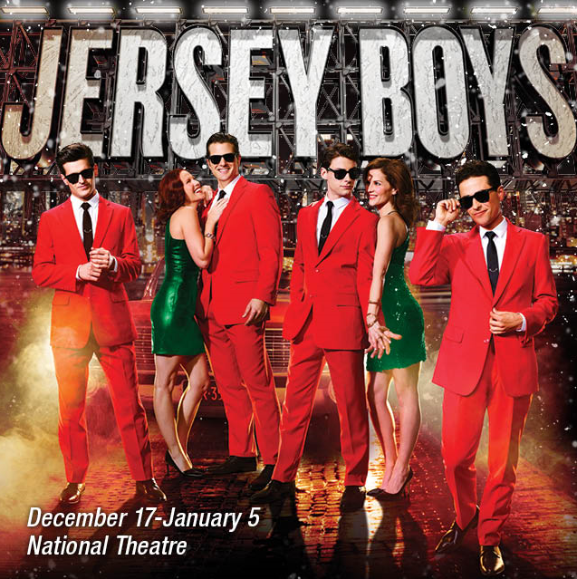 Jersey Boys traveling show promotional photo