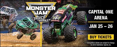 Ad for Monster Jam monster truck show 2020