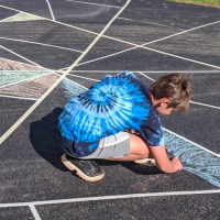 Chalk your walk: Get outside, make art, spread cheer